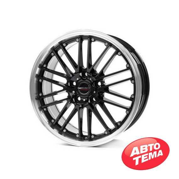 BORBET CW2 black rim polished - Интернет магазин шин и дисков по минимальным ценам с доставкой по Украине TyreSale.com.ua