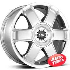 BORBET CWA crystal silver - Интернет магазин шин и дисков по минимальным ценам с доставкой по Украине TyreSale.com.ua