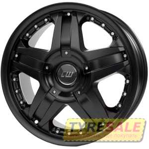 Купить BORBET CWB black matt R18 W8 PCD6x139.7 ET40 DIA67.1
