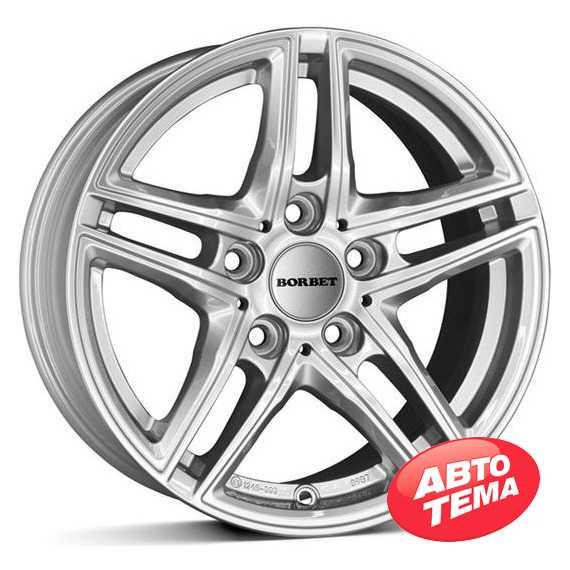 BORBET XR brilliant silver - Интернет магазин шин и дисков по минимальным ценам с доставкой по Украине TyreSale.com.ua