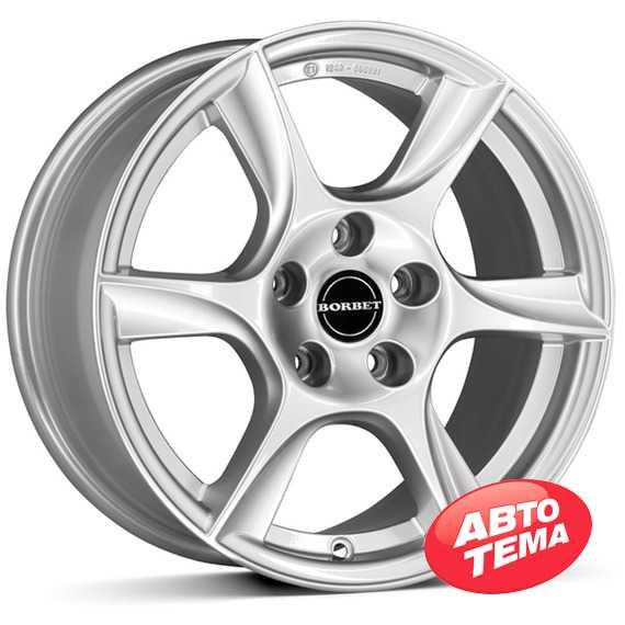 BORBET TL Brilliant Silver - Интернет магазин шин и дисков по минимальным ценам с доставкой по Украине TyreSale.com.ua