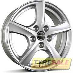 Купить BORBET TL2 Brilliant Silver R16 W6.5 PCD5x108 ET50 HUB63.4