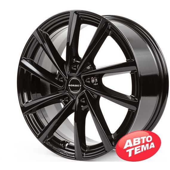 BORBET V black glossy - Интернет магазин шин и дисков по минимальным ценам с доставкой по Украине TyreSale.com.ua