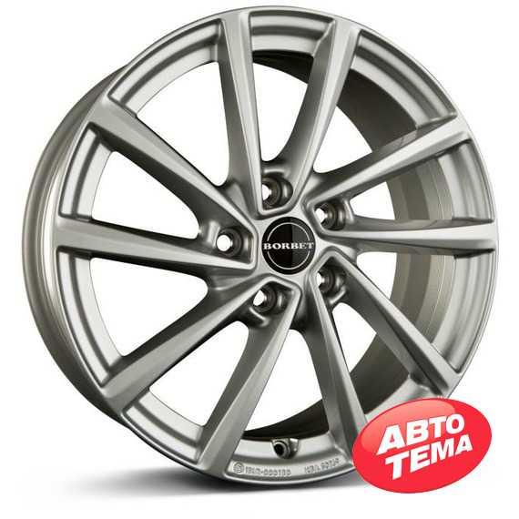 BORBET V brilliant silver - Интернет магазин шин и дисков по минимальным ценам с доставкой по Украине TyreSale.com.ua