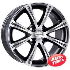 BORBET X8 black chrome polished - Интернет магазин шин и дисков по минимальным ценам с доставкой по Украине TyreSale.com.ua