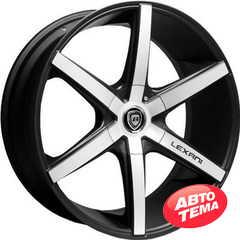 LEXANI R-6 Flat Blk/Mach Face - Интернет магазин шин и дисков по минимальным ценам с доставкой по Украине TyreSale.com.ua
