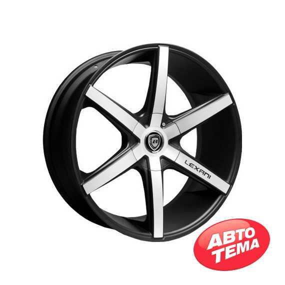 LEXANI R-6 Mach Face/Blk - Интернет магазин шин и дисков по минимальным ценам с доставкой по Украине TyreSale.com.ua