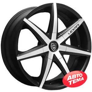 Купить LEXANI R-7 Flat Blk/Mach Face R19 W8.5 PCD5x120 ET35 HUB74.1