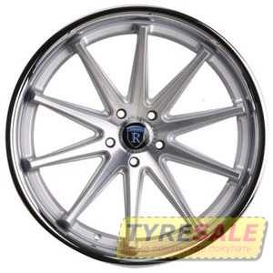Купить Rohana RC10 Machine Silver/Chrome Lip R20 W11 PCD5x112 ET28 HUB66.6