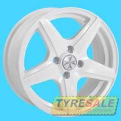Купить JH 1457 White R15 W6.5 PCD4x98 ET35 DIA58.6