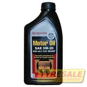 Купить Моторное масло TOYOTA MOTOR OIL 5W-20 SM (0.946л)