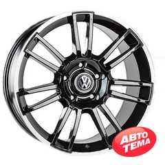 REPLICA Volkswagen JT-1593 BMatt - Интернет магазин шин и дисков по минимальным ценам с доставкой по Украине TyreSale.com.ua