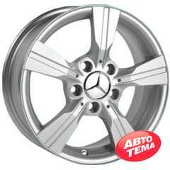 REPLICA Mercedes JH 2433 Silver - Интернет магазин шин и дисков по минимальным ценам с доставкой по Украине TyreSale.com.ua