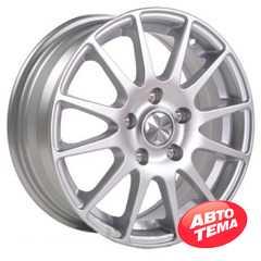 REPLICA Skoda JH 1156 Silver - Интернет магазин шин и дисков по минимальным ценам с доставкой по Украине TyreSale.com.ua
