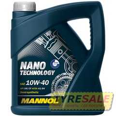 Купить Моторное масло MANNOL Nano Technology 10W-40 (4л)