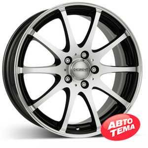 Купить DEZENT V dark BASE Black/polished R17 W7 PCD5x112 ET40 DIA70.1
