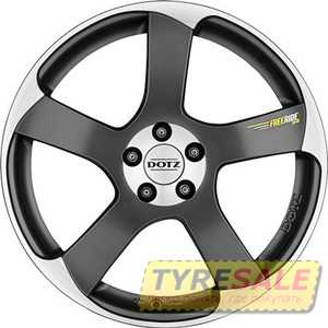 Купить DOTZ Freeride peak BASE Graphite matt/polished R17 W7.5 PCD5x100 ET35 DIA60.1