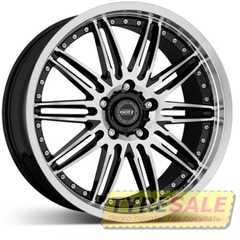 Купить DOTZ Territory FIX Black/polished R19 W9 PCD5x120 ET38 DIA72.6