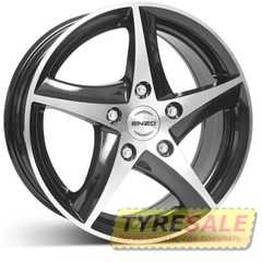 Купить ENZO 101 dark BASE Black/polished R16 W7 PCD5x108 ET48 DIA70.1