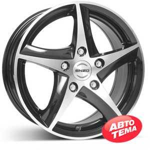 Купить ENZO 101 dark BASE Black/polished R16 W7 PCD5x114.3 ET40 DIA71.6