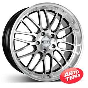 Купить DOTZ Mugello BASE Black/polished R16 W7 PCD5x114.3 ET35 DIA71.6