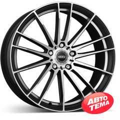 Купить DOTZ Fast Fifteen Black matt/polished R18 W8 PCD5x114.3 ET40 DIA71.6
