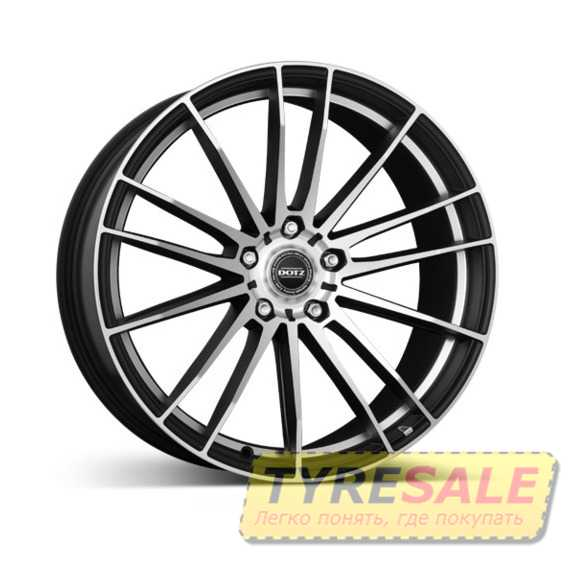 DOTZ Fast Fifteen Black matt/polished - Интернет магазин шин и дисков по минимальным ценам с доставкой по Украине TyreSale.com.ua