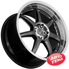 DOTZ Fast Seven BASE Gunmetal/polished - Интернет магазин шин и дисков по минимальным ценам с доставкой по Украине TyreSale.com.ua