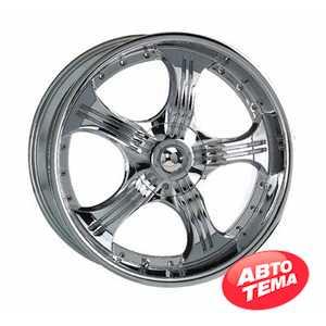 Купить KOSEI WK 155 CHROME R17 W7.5 PCD5x100/112 ET35 DIA73.1