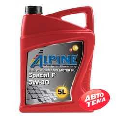 Купить Моторное масло ALPINE Special F 5W-30 SN/CF GF-4 (5л)