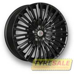 MKW MK-F30 Forged Matt Blacк - Интернет магазин шин и дисков по минимальным ценам с доставкой по Украине TyreSale.com.ua