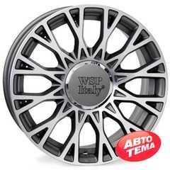 Купить WSP ITALY FIAT GRACE FI98 ANTHRACITE POLISHED W162 R15 W6 PCD5x98 ET39 DIA58.1