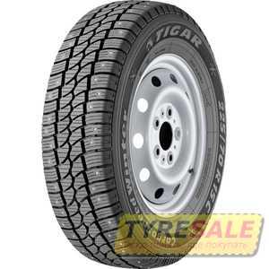 Купить Зимняя шина TIGAR CargoSpeed Winter 225/75R16C 118/116R (Шип)