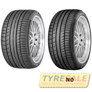 Купить Летняя шина CONTINENTAL ContiSportContact 5 295/40R20 106Y