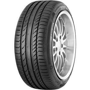 Купить Летняя шина CONTINENTAL ContiSportContact 5 SUV 235/55R18 100V Run Flat