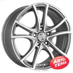 RW (RACING WHEELS) RW Classic H-496 DDN F/P - Интернет магазин шин и дисков по минимальным ценам с доставкой по Украине TyreSale.com.ua