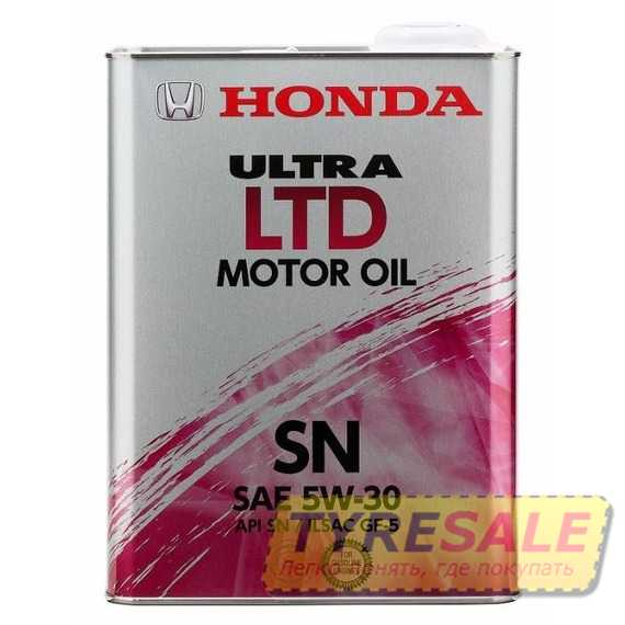 Купить Моторное масло HONDA Ultra LTD 5W-30 SN (4л)