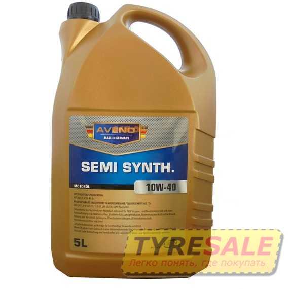 Моторное масло AVENO Semi Synth.  - Интернет магазин шин и дисков по минимальным ценам с доставкой по Украине TyreSale.com.ua