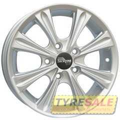 Купить TECHLINE 523 S R15 W6 PCD4x100 ET50 HUB60.1