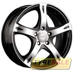 RW (RACING WHEELS) H-366 BK-F/P - Интернет магазин шин и дисков по минимальным ценам с доставкой по Украине TyreSale.com.ua