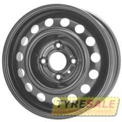 Купить Легковой диск STEEL KAP Black R15 W6 PCD4x108 ET18 DIA65.1