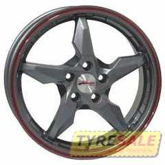 Легковой диск RS WHEELS 5240 (cb/yl) - Интернет магазин шин и дисков по минимальным ценам с доставкой по Украине TyreSale.com.ua