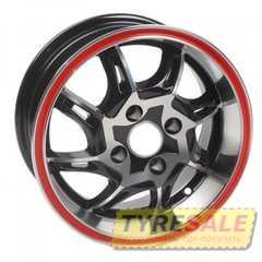 Легковой диск BANZAI Z834 MB Red Line - Интернет магазин шин и дисков по минимальным ценам с доставкой по Украине TyreSale.com.ua