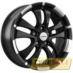 Легковой диск RONAL R59 Jet Black Matt-Rim Lip Diamond Cut - Интернет магазин шин и дисков по минимальным ценам с доставкой по Украине TyreSale.com.ua