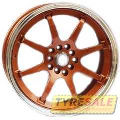 Купить Легковой диск ALEXRIMS AFC-2 Bronze plus polished rim R17 W8 PCD5x100 ET42 DIA67.1