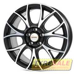 Легковой диск SPEEDLINE SL5 Vincitore Jetblack-matt-diamond cut - Интернет магазин шин и дисков по минимальным ценам с доставкой по Украине TyreSale.com.ua