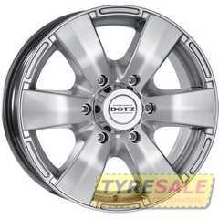 Легковой диск DOTZ Luxor Silver - Интернет магазин шин и дисков по минимальным ценам с доставкой по Украине TyreSale.com.ua