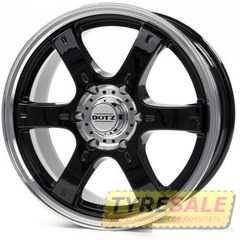 Легковой диск DOTZ Daytona Black - Интернет магазин шин и дисков по минимальным ценам с доставкой по Украине TyreSale.com.ua