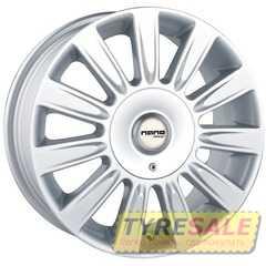 Легковой диск NANO DW-864 Silver - Интернет магазин шин и дисков по минимальным ценам с доставкой по Украине TyreSale.com.ua
