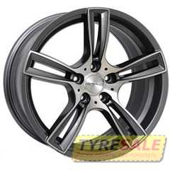 Купить Легковой диск PDW TF-5 Gunmetal Machine F​ace R16 W7 PCD5x114.3 ET45 DIA67.1